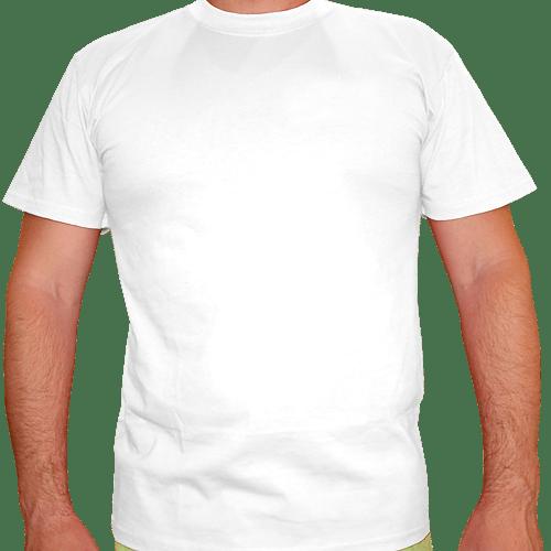 Футболка белая с коротким рукавом
