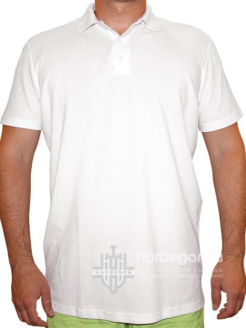 6ea149416eec Рубашка-поло белая